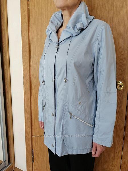 Стильная легкая женская куртка, размер 52, Kirsten, Германия