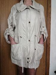Стильная легкая женская куртка, размер 52, On Parle de Vous, Paris