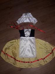 Новогодний карнавальный костюм для девочки 2 шт