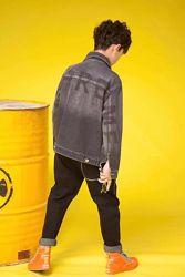 Джинсовая куртка-пиджак для мальчиков/подростков