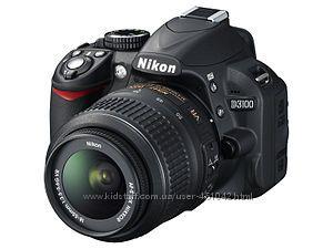 Цифровая зеркальная фотокамера Nikon D3100 18-55 VR Kit