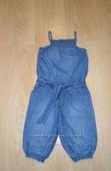 Комбинезон джинсовый Мазекеа 110-116 размер