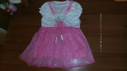 новый нарядный костюм девочке 3-6 месяцев