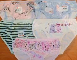 Трусики, майки, комплекты для девочки 6-7лет ТМ Donella. Хлопок. В наличии.