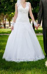 Свадебное платье рост 165-175см