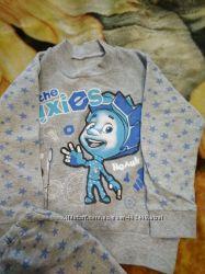 Пижама Фиксики для малыша 4-6 лет