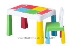 Комплект мебели Tega Baby MULTIFUN, Польша - стол и стульчик