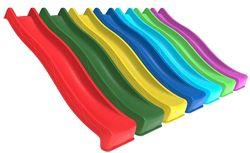 Детская горка-спуск длиной 1,2 м, 1,8 м, 2,2 м или 3 м, можно для воды