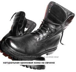 Ботинки высокие нат. кожа на меху по оптовой цене