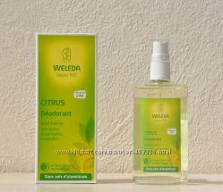 Цитрусовый дезодорант WELEDA, наличие