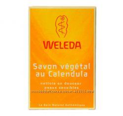 Растительное мыло с календулой Weleda, наличие