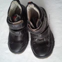 ботиночки демисезонные кожа