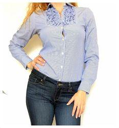 Рубашка/блузка в полоску с жабо GAP