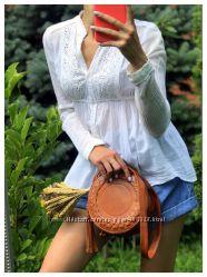 Легкая летняя рубаш ка в стиле Zara
