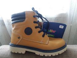 Ботинки Лупилу Lupilu Германия весенние желтьіе
