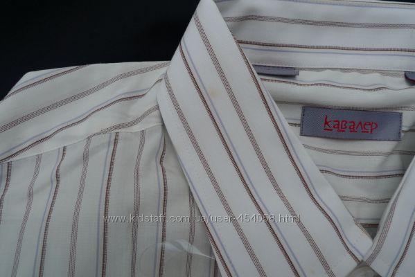 Шикарная рубашка мужская Кавалер Украина р. 54