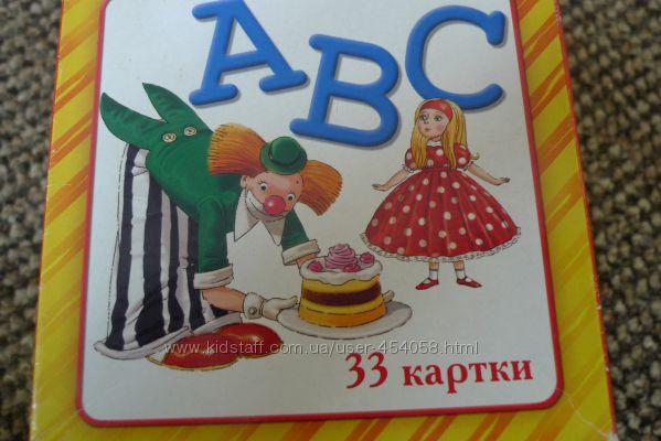 Карточки для изучения английского Издательство Розумна Дитина