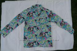 Стильная рубашка для мальчика  рост 134-140см новая