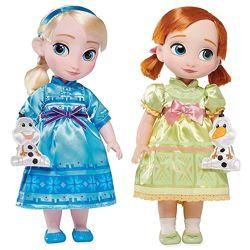 Куклы Принцессы Дисней Анна Эльза Холодное сердце Аниматор Disney Animators