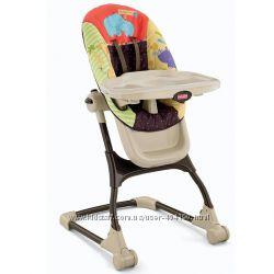 Детский высокий стул для кормления Fisher Price Любимый зоопарк