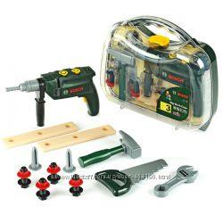 Детский набор инструментов с дрелью BOSCH кейс Klein 8416