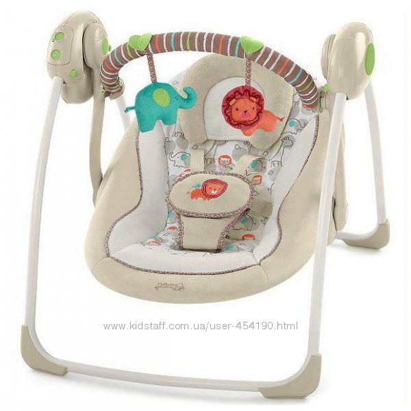 Качели кресло-качель бежевая Bright Starts Comfort & Harmony 60194