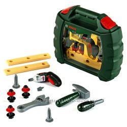 Набор инструментов с шуруповертом в кейсе BOSCH Klein 8384