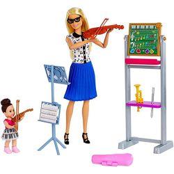 Кукла Барби Учитель музыки Barbie Music Teacher