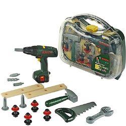 Набор инструментов с шуруповертом в кейсе BOSCH Klein 8428