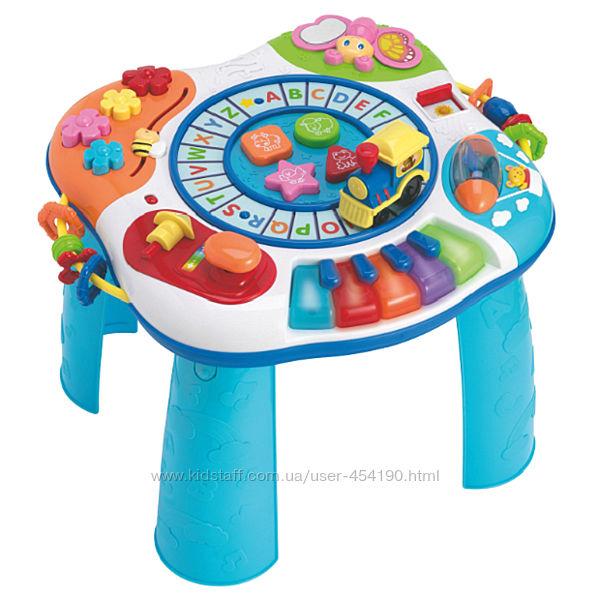 Столик развивающий игровой с паровозиком WinFun