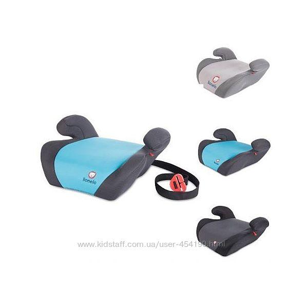 Автокресло бустер 15-36 кг Lionelo LUUK разные цвета