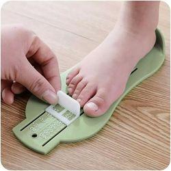 Измеритель ступни ребенка, стопомер, линейка для стопы