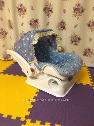 Продаю детское автокресло для младенцев Evenflo с системой крепления Isofix