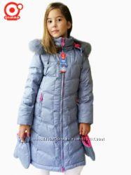 Очень тёплое пуховое пальто OHARA, для девочки