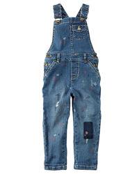 Carters джинсы джинсовый комбинезон на 7 лет
