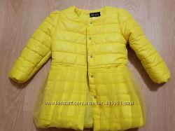 Стильная куртка для модницы 6 7 лет