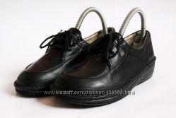 Кожаные туфли Finn Comfort Germany. Cтелька 23, 5 см