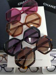 New коллекция- брендовые очки Chanel и др. Крупные актуальные формы