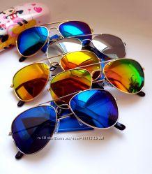 Детские солнцезащитные очки - polarized. Авиаторы