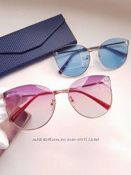 Женские очки -cateye  Havvs - polarized . Комплектация- складной футлярсалф