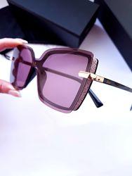 New- стильные брендовые очки - люкс-  Chanel - линза Polarized