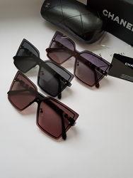 New- стильные безоправные очки Chanel/ polarized.  3 цвета.