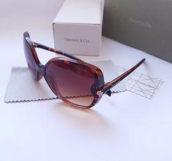 Женские брендовые очки Tiffany TF havana . Классика. Фирменный комплект