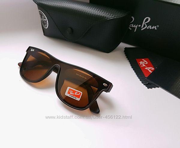 Мужские очки Ray Ban Wayfaer - polarized.  Фирменный комплект