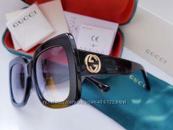Sale- Брендовые квадратные очки Gucci GG0083S-номерные Комплект