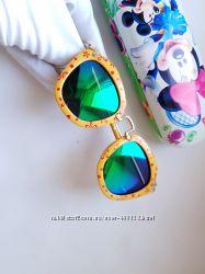 Детские  очки от солнца в стиле Miumiu- Polarized линза. Брендовые оправы.