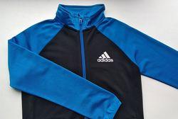 Спортивная кофта р.140 Adidas олимпийка на 9-10 лет мальчику, замеры
