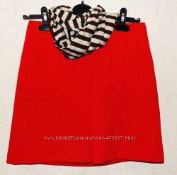 Красная юбочка Naf Naf