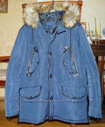 dba55a46c93 Мужская молодежная зимняя куртка ZARA MAN