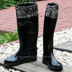 Новинки Силиконовые сапоги и ботинки из Польши Много моделей